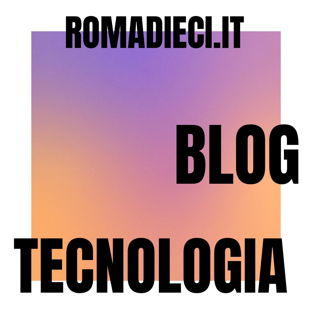 TECNOLOGIA ROMA